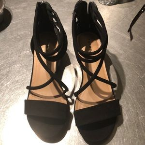 Black torrid heels